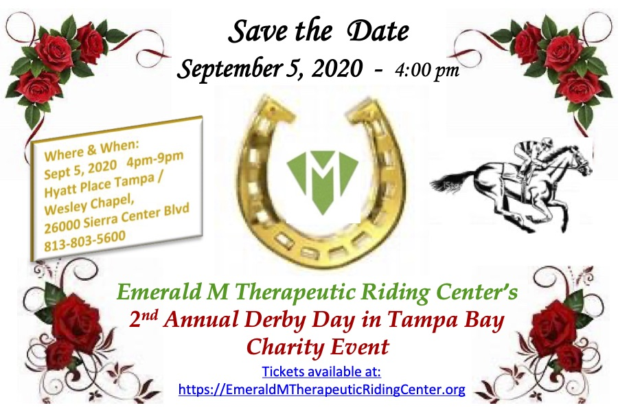 Emerald M Save the Date 9-5-20 Derby Day postcard for web