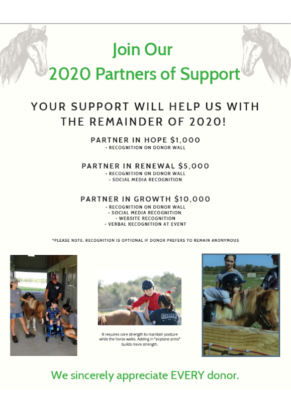2020 Partners of Support